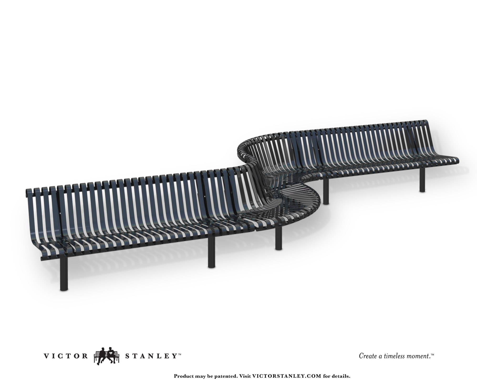 Zigzag Nrb Victor Stanley Site Furniture